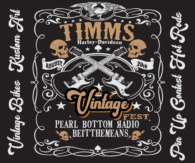Vintage Fest Timms Harley-Davidson